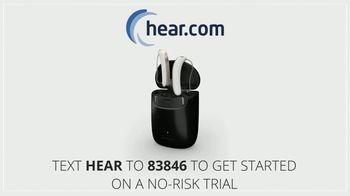 Hear.com New Horizon Hearing Aids TV Spot, 'Sleek Design: No-Risk Trial' - Thumbnail 8