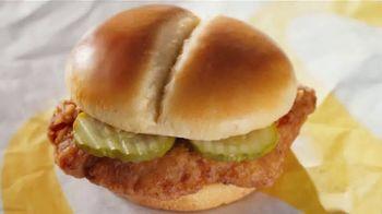 McDonald's Crispy Chicken Sandwich TV Spot, 'A New Lineup' - Thumbnail 1