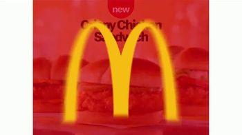 McDonald's Crispy Chicken Sandwich TV Spot, 'A New Lineup' - Thumbnail 7