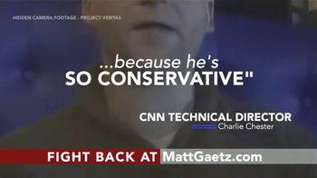 Friends of Matt Gaetz TV Spot, 'Senior CNN Staff'