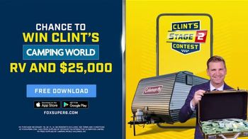 FOX Bet TV Spot, 'Win Clint's Camping World RV and $25,000'