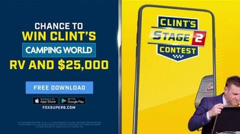 FOX Bet TV Spot, 'Win Clint's Camping World RV and $25,000' - Thumbnail 1