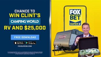 FOX Bet TV Spot, 'Win Clint's Camping World RV and $25,000' - Thumbnail 3