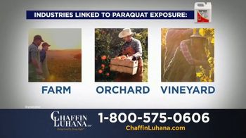 Chaffin Luhana TV Spot, 'Herbicide Linked to Parkinson's' - Thumbnail 3