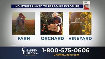 Chaffin Luhana TV Spot, 'Herbicide Linked to Parkinson's' - Thumbnail 4