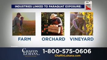 Chaffin Luhana TV Spot, 'Herbicide Linked to Parkinson's' - Thumbnail 5