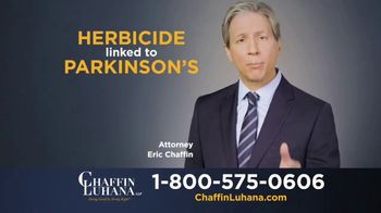 Chaffin Luhana TV Spot, 'Herbicide Linked to Parkinson's' - Thumbnail 6