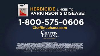 Chaffin Luhana TV Spot, 'Herbicide Linked to Parkinson's' - Thumbnail 8