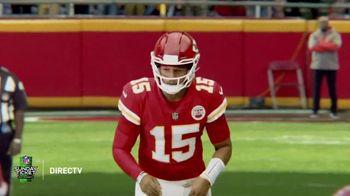 DIRECTV NFL Sunday Ticket TV Spot, 'Front Row' Featuring Patrick Mahomes