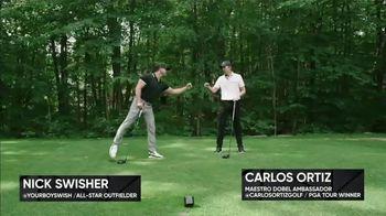 Maestro Dobel Tequila TV Spot, 'Golf' Featuring Nick Swisher, Carlos Ortiz - Thumbnail 1