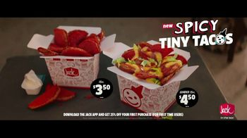 Jack in the Box Spicy Tiny Tacos TV Spot, 'Can't Handle It' Featuring King Bach - Thumbnail 9