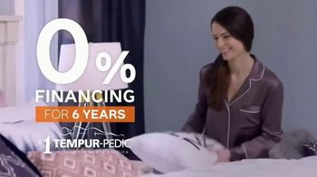Ashley HomeStore TV Spot, 'Tempur-Pedic Retailer: 0% Financing for Six Years' Song by Midnight Riot - Thumbnail 4