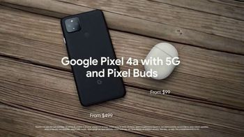 Google Pixel 4a and Pixel Buds TV Spot, 'Pixel 4a With 5G from $499 and Pixel Buds from $99' - Thumbnail 10