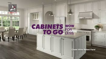 Cabinets To Go TV Spot, 'Wow Changes Everything: 10x10 Cabinets: BOGO or Free Installation' - Thumbnail 1