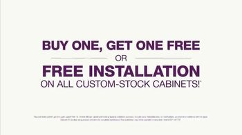 Cabinets To Go TV Spot, 'Wow Changes Everything: 10x10 Cabinets: BOGO or Free Installation' - Thumbnail 3