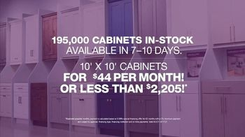 Cabinets To Go TV Spot, 'Wow Changes Everything: 10x10 Cabinets: BOGO or Free Installation' - Thumbnail 8