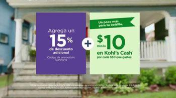 Kohl's TV Spot, 'Regreso a clases: la mejor parte' [Spanish] - Thumbnail 6