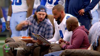 DIRECTV NFL Sunday Ticket TV Spot, 'Front Row' Featuring Dak Prescott - Thumbnail 2