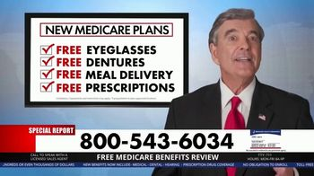 Medicare Benefits Hotline TV Spot, 'Special Report: No Hype' - 3 commercial airings
