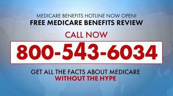 Medicare Benefits Hotline TV Spot, 'Special Report: No Hype' - Thumbnail 4