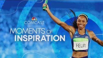 Comcast Corporation TV Spot, 'Moments of Inspiration' Featuring Emma Coburn, Sydney McLaughlin