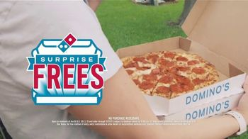 Domino's TV Spot, 'Surprise Frees Are Coming' - Thumbnail 6