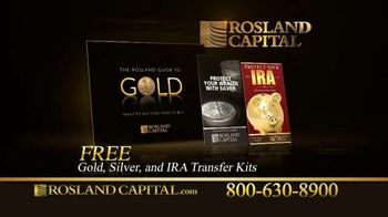 Rosland Capital TV Spot, 'Rising National Debt: Gold and Silver Investments' Ft. William Devane - Thumbnail 10