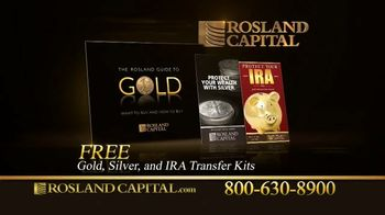 Rosland Capital TV Spot, 'Rising National Debt: Gold and Silver Investments' Ft. William Devane - Thumbnail 9