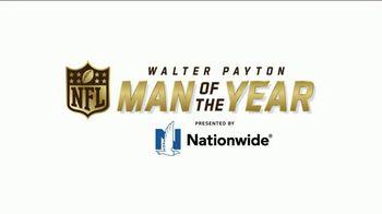 Nationwide Insurance TV Spot, 'NFL: Walter Payton Man of the Year' - Thumbnail 8