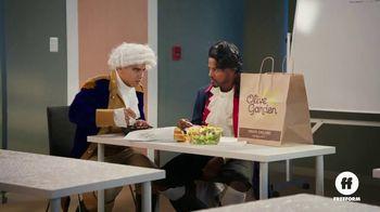Olive Garden TV Spot, 'Freeform: Historical Reenactment' - 9 commercial airings