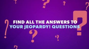 Jeopardy Productions, Inc. TV Spot, 'Behind the Scenes'