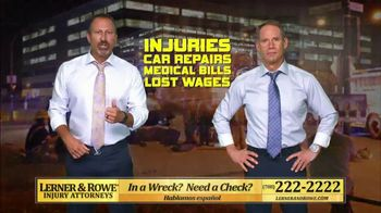 Lerner and Rowe Injury Attorneys TV Spot, 'Experience Proven Results' - Thumbnail 2