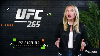 DraftKings Sportsbook TV Spot, 'UFC 265: Bet $1 and Win $100'