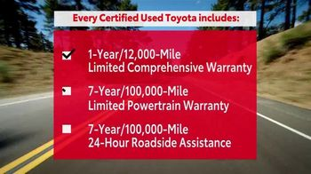 Toyota Certified Used Vehicles TV Spot, 'The Best of the Best' [T2] - Thumbnail 3
