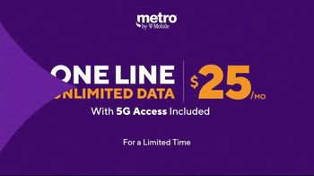 Metro by T-Mobile TV Spot, 'Big 5G Upgrade: Unlimited for $25 Per Month, Free Galaxy 5G' - Thumbnail 6