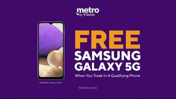 Metro by T-Mobile TV Spot, 'Big 5G Upgrade: Unlimited for $25 Per Month, Free Galaxy 5G' - Thumbnail 7