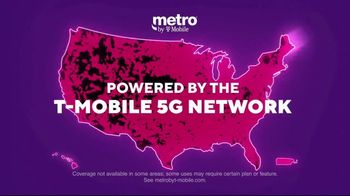 Metro by T-Mobile TV Spot, 'Big 5G Upgrade: Unlimited for $25 Per Month, Free Galaxy 5G' - Thumbnail 8
