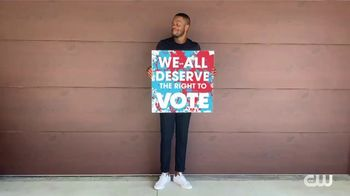 Vote.org TV Spot, 'The CW: Freedom to Vote' Feat. Camrus Johnson, Kennedy McMann