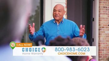 Choice Home Warranty TV Spot, 'Comeback: First Month Free' Featuring George Foreman - 98 commercial airings