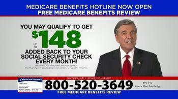 Medicare Coverage Helpline TV Spot, 'New Benefits Review'