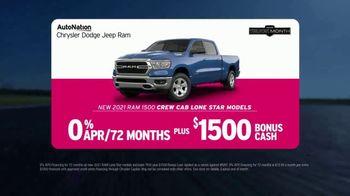 AutoNation Ram Truck Month TV Spot, 'Go Time: 2021 Ram 1500 Crew Cab' - Thumbnail 5