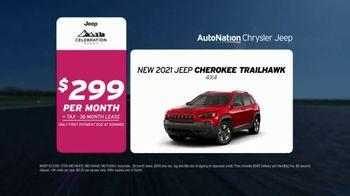 AutoNation Chrysler Dodge Jeep Ram Celebration Event TV Spot, 'Go Time: 2021 Cherokee or Renegade'