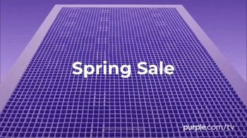 Purple Mattress Spring Sale TV Spot, 'Floating: Free Sheets and Pillow' - Thumbnail 1