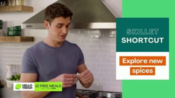 HelloFresh TV Spot, 'Skillet Shortcuts' Featuring Antoni Porowski - Thumbnail 7