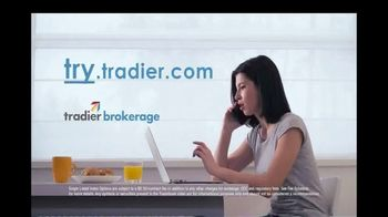 Tradier TV Spot, 'Paying Per Contract for Options' - Thumbnail 9