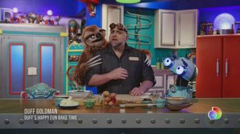 Discovery+ TV Spot, 'Duff's Happy Fun Bake Time'