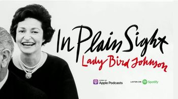 In Plain Sight: Lady Bird Johnson TV Spot, 'Unheard Daily Audio Diaries' - Thumbnail 9
