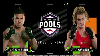 DraftKings TV Spot, 'Join the Cage: PFL: $5,000' - 33 commercial airings