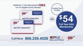 AAA TV Spot, 'Peace of Mind: $54 Full Year Membership' - Thumbnail 10