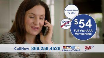 AAA TV Spot, 'Peace of Mind: $54 Full Year Membership' - Thumbnail 9